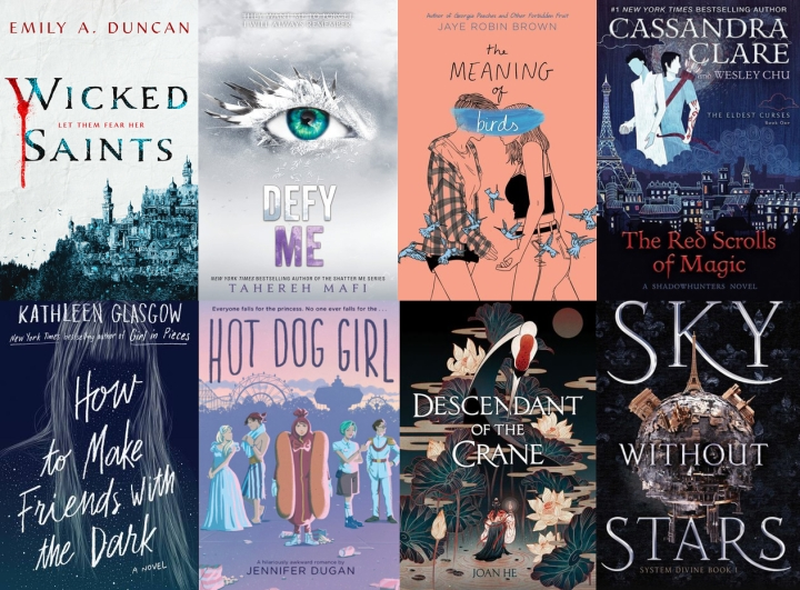 April YA Releases of2019
