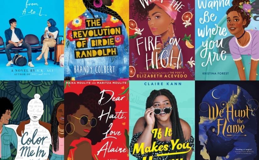 2019 YA Releases with POC Main Characters