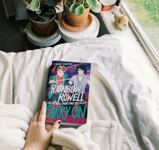 LGBT+ Book Recommendation — Carry On by Rainbow Rowell