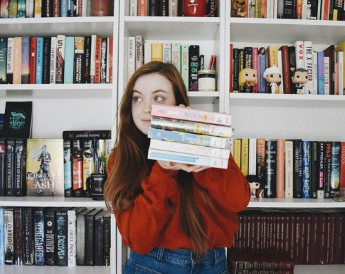 Library Haul + TBR | August