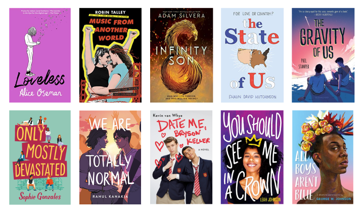 Upcoming YA LGBT+ Books in 2020